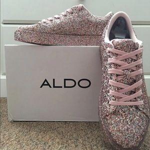 Etilivia glitter sneaker form Aldo